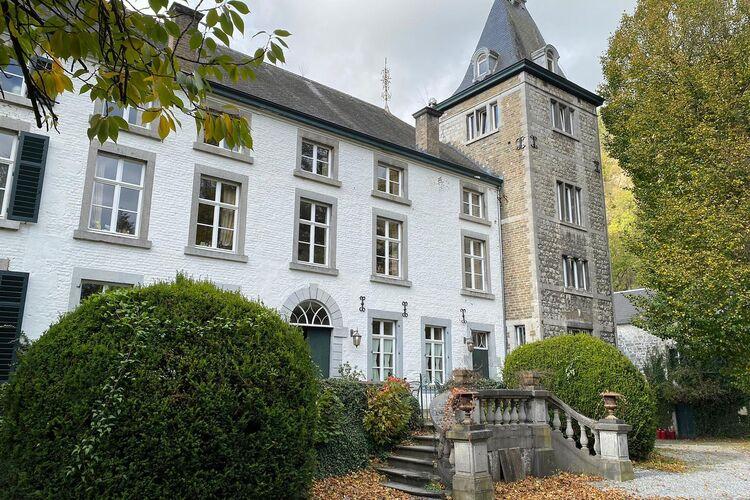 Kastelen Belgie | Luik | Kasteel te huur in Aywaille   met wifi 8 personen