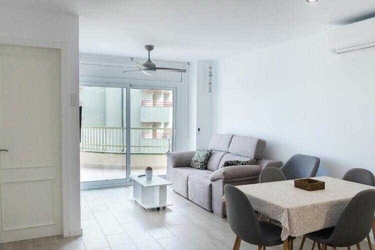 Vakantiehuizen Spanje | Costa-de-Barcelona | Vakantiehuis te huur in CALELLA   met wifi 4 personen