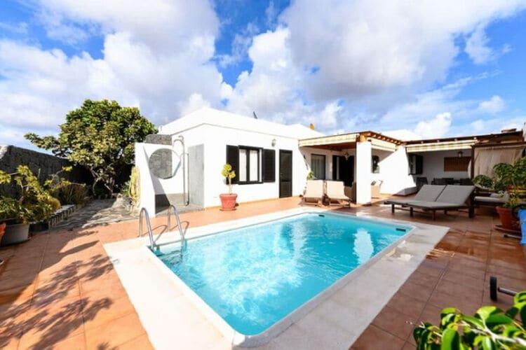 Vakantiehuizen Spanje | Lnzt | Vakantiehuis te huur in Playa-Blanca met zwembad  met wifi 6 personen