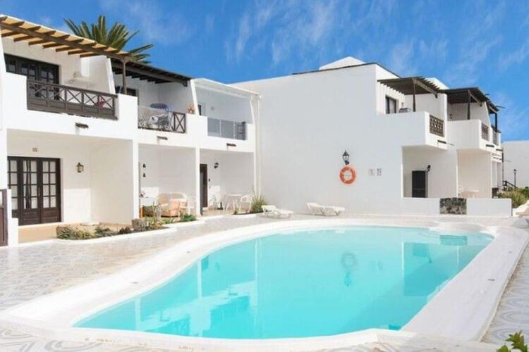 Vakantiehuizen Spanje | Lnzt | Appartement te huur in Puerto-del-Carmen met zwembad  met wifi 6 personen