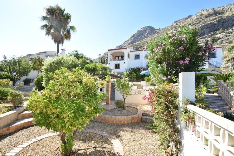 Vakantiehuizen Spanje | Costa-Blanca | Vakantiehuis te huur in Benigembla met zwembad  met wifi 9 personen