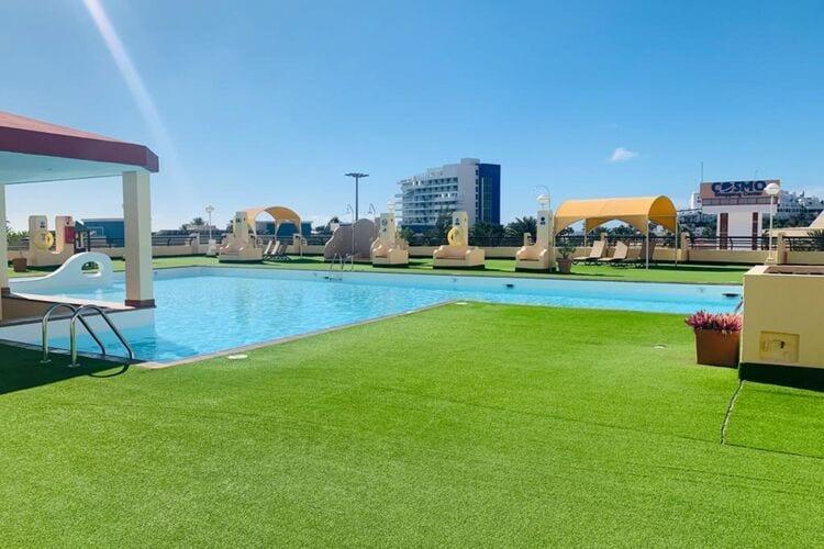Vakantiehuizen Spanje   Fuert   Vakantiehuis te huur in Jandia met zwembad  met wifi 4 personen