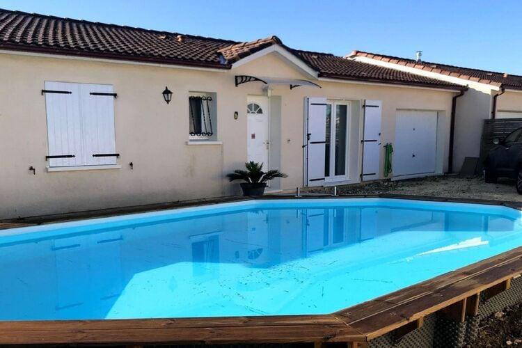 Vakantiehuizen Frankrijk | Cote-Atlantique | Vakantiehuis te huur in St-Medard-de-Guizieres met zwembad  met wifi 2 personen