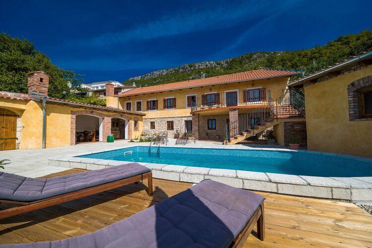 Vakantiehuizen Kroatie | Kvarner | Vakantiehuis te huur in Griane met zwembad  met wifi 6 personen