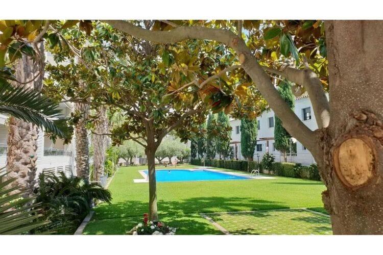 Vakantiehuizen Spanje | Costa-Brava | Appartement te huur in Platja-dAro met zwembad  met wifi 6 personen