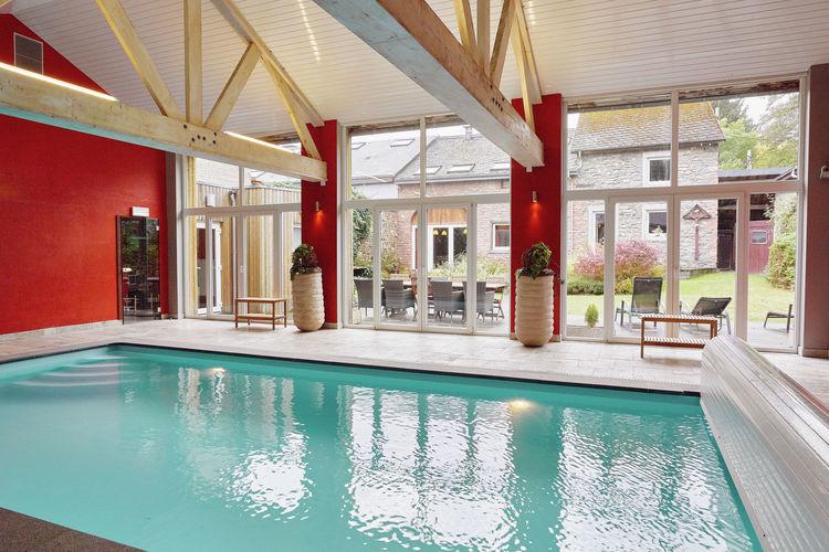 Vakantiehuizen Belgie | Luik | Vakantiehuis te huur in Trois-Ponts met zwembad  met wifi 10 personen
