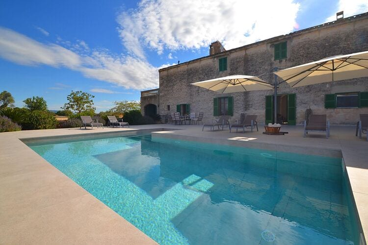 Vakantiehuizen Spanje   Mallorca   Vakantiehuis te huur in Migjorn met zwembad  met wifi 6 personen