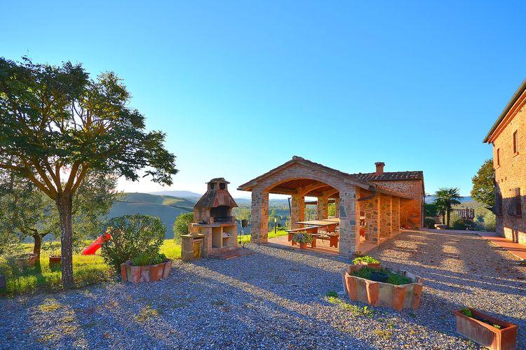 Vakantiehuizen Italie   Toscana   Boerderij te huur in Peccioli met zwembad  met wifi 4 personen