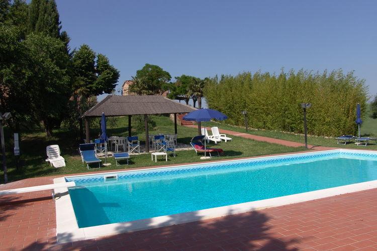 Vakantiehuizen Italie   Toscana   Boerderij te huur in Peccioli met zwembad  met wifi 3 personen