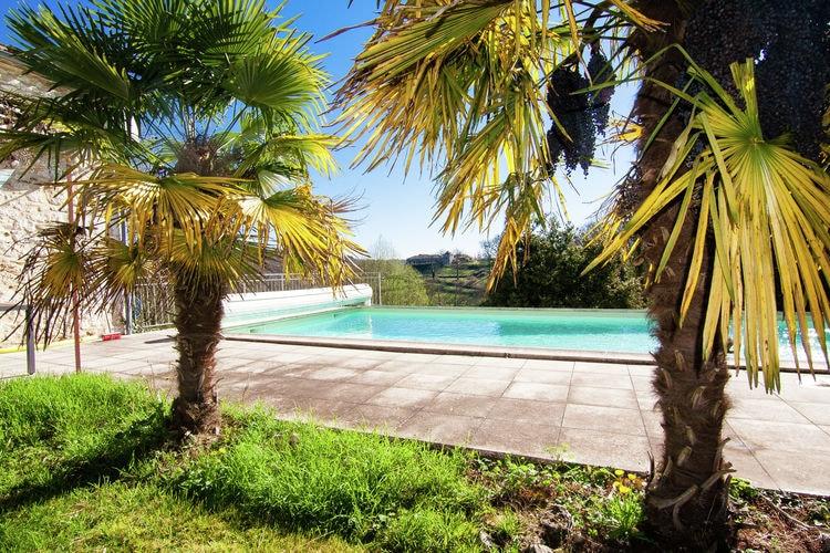 Vakantiehuis met zwembad met wifi  DordogneLe Caillauda