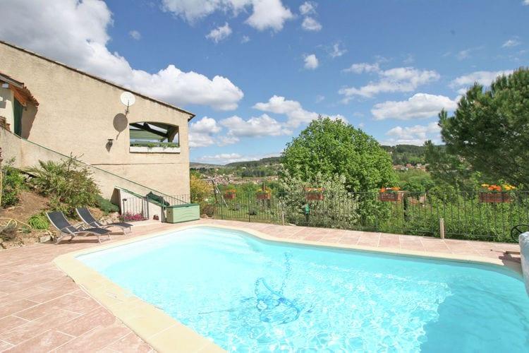 Salernes Vakantiewoningen te huur Woning met zwembad aan de rand van Salernes, op 40 km van de Middellandse Zee