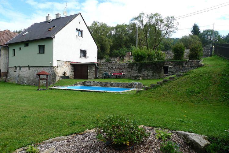 Tsjechie / West-Bohemen | Vakantiehuis met zwembad   - Rovna  Ferienhaus Eva