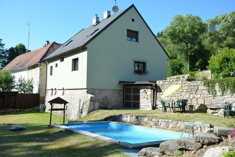 Tsjechie | West-Bohemen | Vakantiehuis te huur in Rovna met zwembad   6 personen