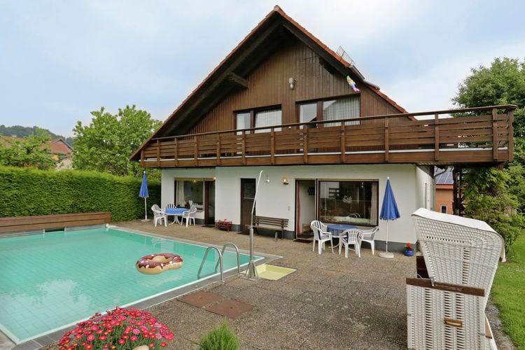 Appartement met zwembad met wifi  Bad Wildungen-Armsfeld  Haus Knoche