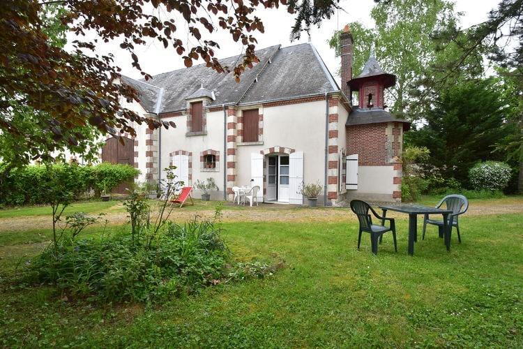 Vatan Vakantiewoningen te huur Charmant huis nabij de talloze grote franse Chateaux