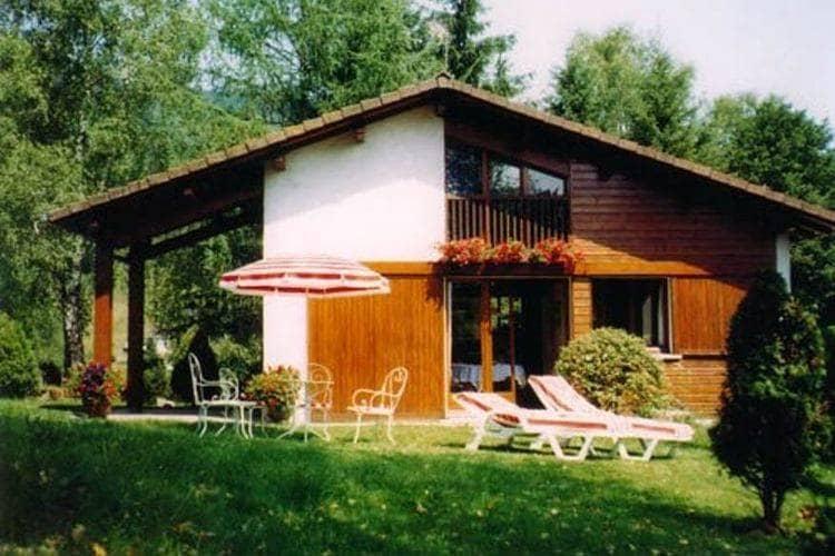 Frankrijk | Vogezen | Chalet te huur in Le-Thillot met zwembad  met wifi 6 personen