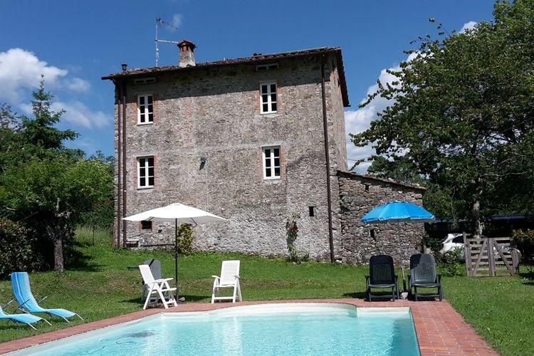 Vakantiewoning met zwembad   Trebbio  Paola