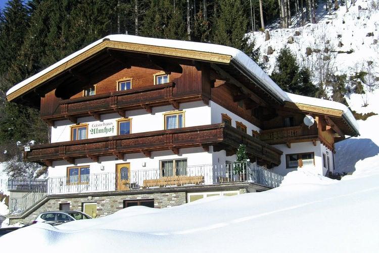 Vakantiehuizen Oostenrijk | Tirol | Appartement te huur in Gerlosberg-zell-am-Ziller   met wifi 26 personen