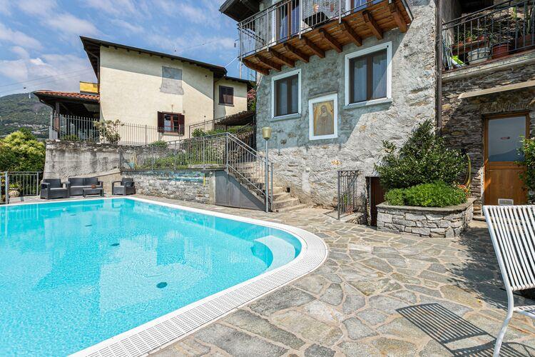 Vakantiehuizen Italie | Italiaanse-Meren | Appartement te huur in Gravedona met zwembad  met wifi 5 personen