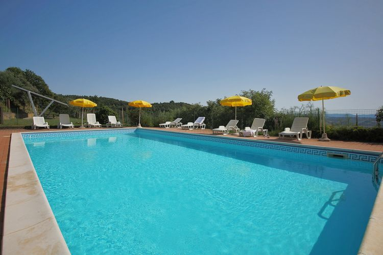 Boerderijen Italie | Umbrie | Boerderij te huur in Paciano met zwembad  met wifi 5 personen