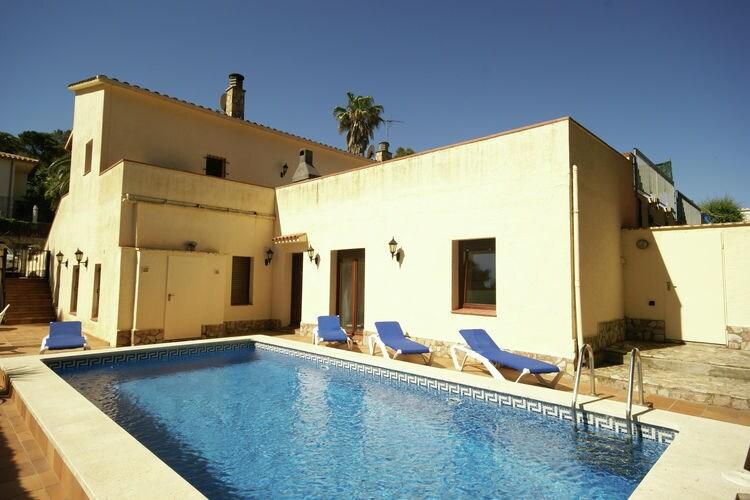 Vakantiehuis met privézwembad in Playa de Pals