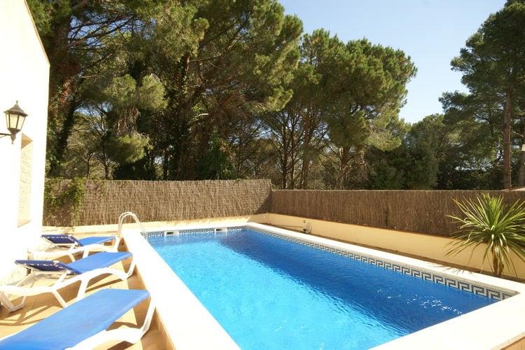 Vakantiehuis met zwembad met wifi  Playa de Pals  Mas Tomasi C