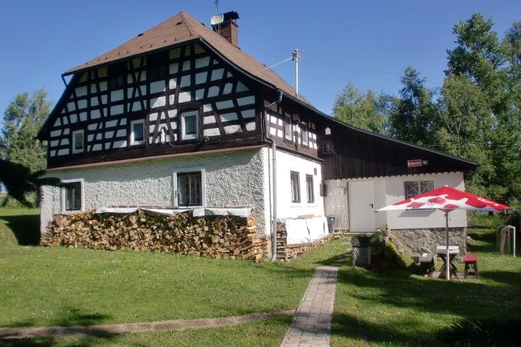 Vakantiehuizen West-Bohemen te huur Jindrichovice-Loucna- CZ-35707-01   met wifi te huur