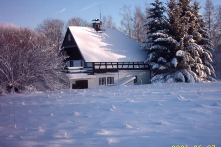 Vakantiehuizen Tsjechie | West-Bohemen | Vakantiehuis te huur in Jindrichovice-Loucna   met wifi 10 personen