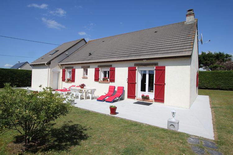 Woning Frankrijk | Normandie | Vakantiehuis te huur in Denneville-Plage   met wifi 9 personen