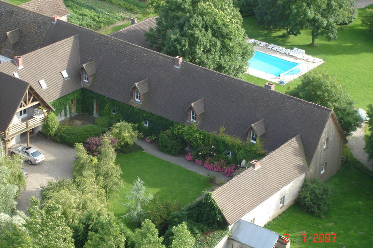 Vakantiehuis met zwembad met wifi  PicardieGite 1