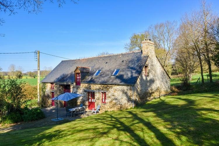 Vakantiehuizen Frankrijk   Bretagne   Vakantiehuis te huur in La-Boussac    6 personen