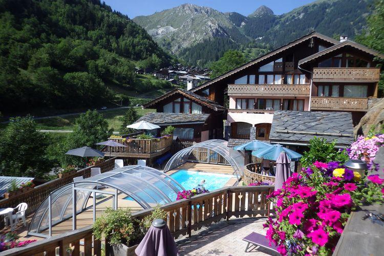 Appartement met zwembad met wifi  Champagny-en-VanoiseResidence les Edelweiss 3