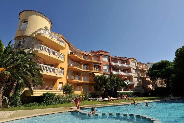 Appartement met zwembad met wifi  EmpuriabravaComte de Empuries Apt  B