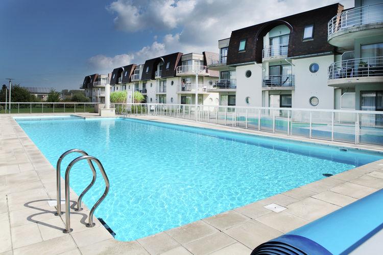 Appartement huren in Bredene - met zwembad  met wifi met zwembad voor 4 personen  Dit sfeervolle appartement is gele..