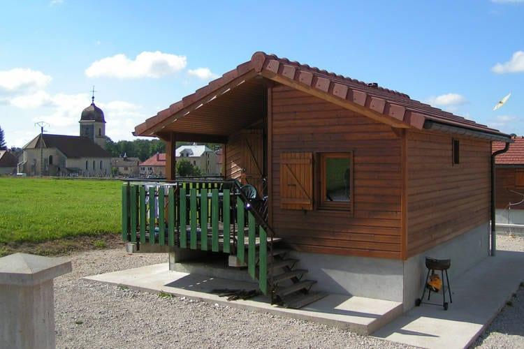 Jura Chalets te huur een domein met vrijstaande chalets in de Jura