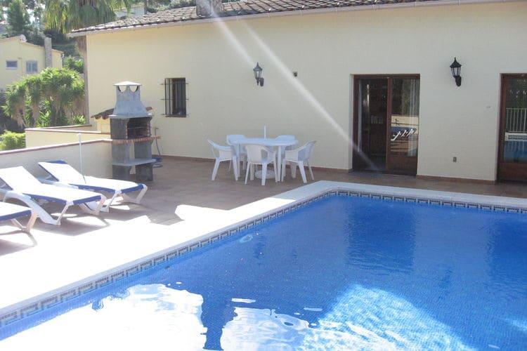 Vakantiehuis met zwembad met wifi  Playa de Pals  Mas Tomasi B