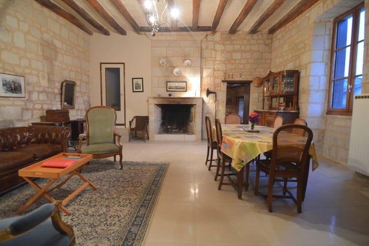 Woning Frankrijk | Region-Centre | Vakantiehuis te huur in Lerne   met wifi 5 personen