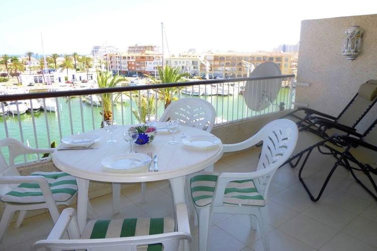 Appartement  met wifi  Costa BravaPort Grec vista