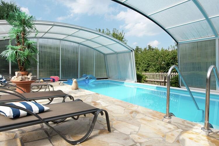 Appartement met zwembad met wifi  SaksenAm Friedensweg