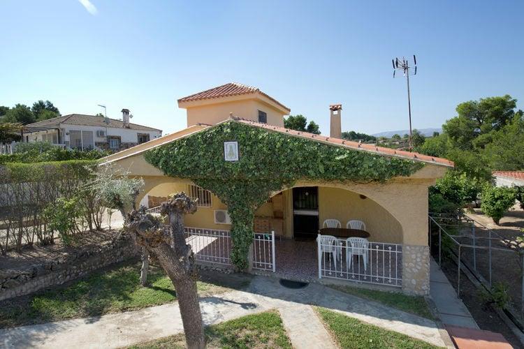Valencia Villas te huur Typisch Spaans chalet met privé zwembad