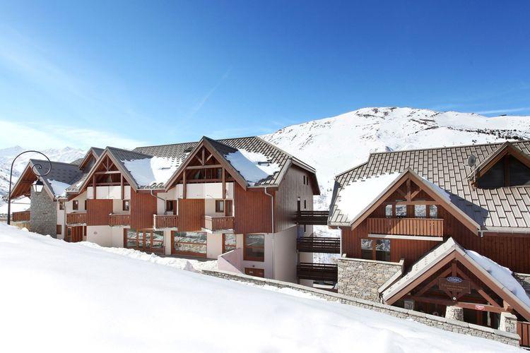 Vakantiehuizen Frankrijk | Rhone-alpes | Appartement te huur in Valmeinier   met wifi 6 personen