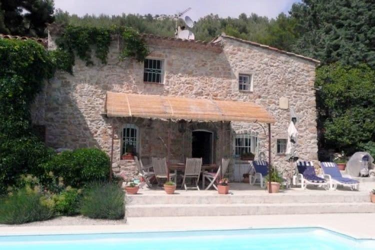 Evenos Vakantiewoningen te huur Villa Fiona