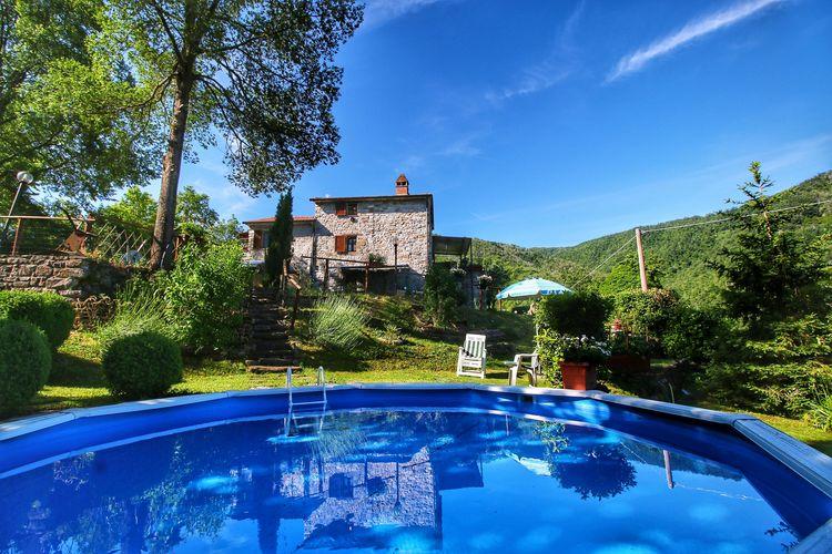 Vakantiewoning huren in Citta-di-Castello - met zwembad  met wifi met zwembad voor 4 personen  Vakantiehuis Busco ligt op 400 met..