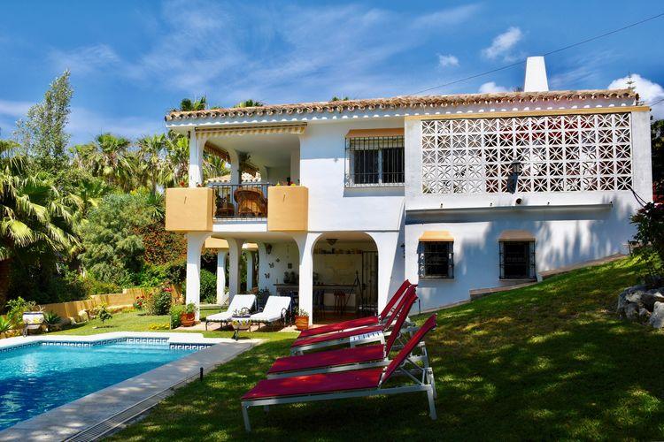 Costa del Sol Villas te huur Schitterende villa met gemeenschappelijk zwembad
