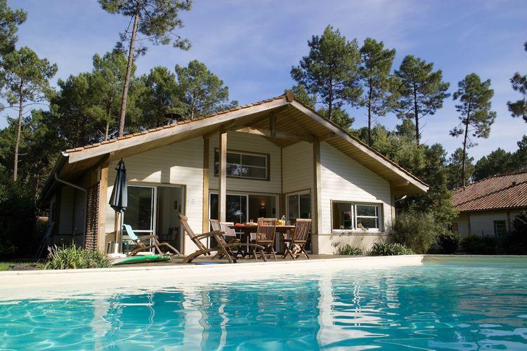 Ferienhaus Villas Clairière aux Chevreuils 3 (90003), Moliets Plage, Atlantikküste Landes, Aquitanien, Frankreich, Bild 2