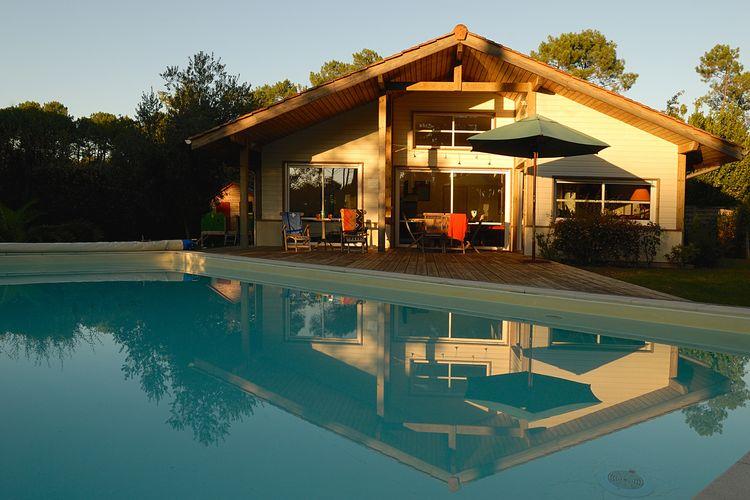 Ferienhaus Villas Clairière aux Chevreuils 3 (90003), Moliets Plage, Atlantikküste Landes, Aquitanien, Frankreich, Bild 3