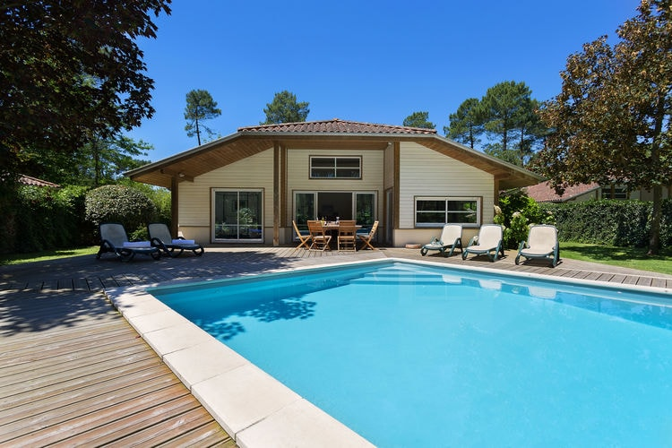 Vakantiehuizen Frankrijk | Cote-Atlantique | Villa te huur in Moliets met zwembad  met wifi 10 personen