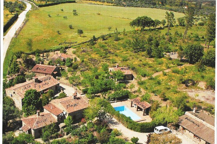 Spanje | Extramadura | Boerderij te huur in Valence met zwembad  met wifi 4 personen