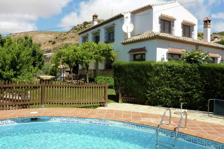 Vakantiehuizen Spanje | Andalucia | Vakantiehuis te huur in Los-Nogales met zwembad   10 personen