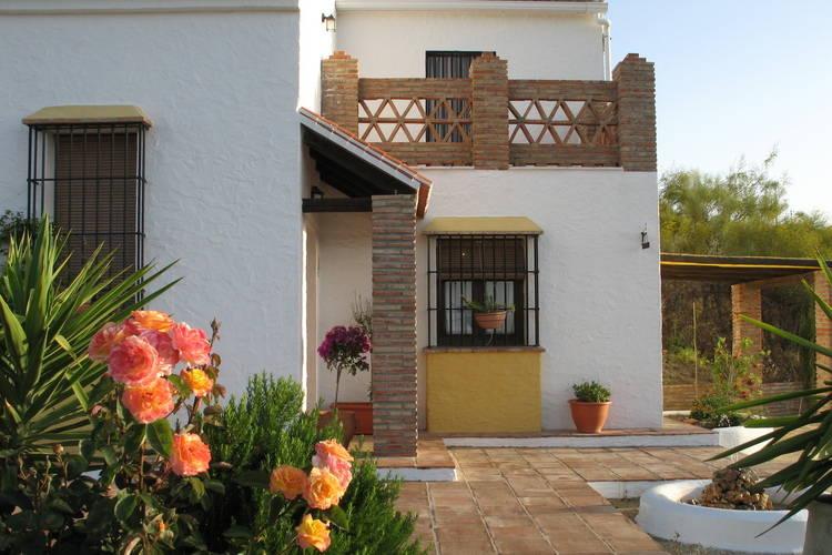 Casabermeja Vakantiewoningen te huur Vakantiehuis in rustieke stijl, met privé zwembad, in de bergen en mooi uitzicht